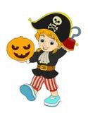 Beeldverhaalkarakter - Halloween - illustratie voor t Stock Afbeeldingen