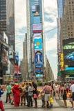 Beeldverhaalkarakters in NYC Royalty-vrije Stock Foto