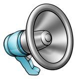 Beeldverhaalmegafoon vector illustratie