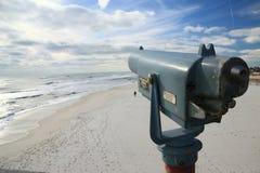 Beeldzoeker op Strand Pensacola Royalty-vrije Stock Afbeeldingen