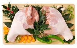 Been van varkensvlees Stock Foto