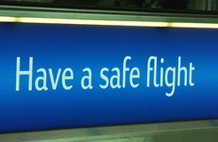 Beenden Sie Flug Lizenzfreie Stockfotografie