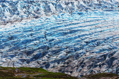 Beenden Sie Gletscher Lizenzfreies Stockbild