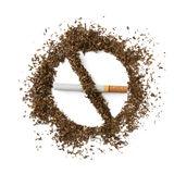 Beenden Sie Smoking lizenzfreie stockfotografie
