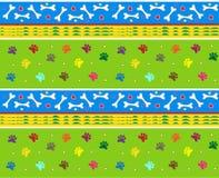 Beenderen en Potenpatroon vector illustratie