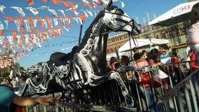 Beenderen van een paard Royalty-vrije Stock Foto's