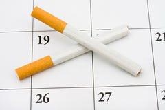 Beendetes jetzt rauchen Stockfotografie