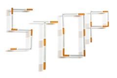 Beendetes Rauchen Lizenzfreies Stockfoto