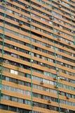 Beengte Verhältnis-Masse der gepackten Häuser Stockbilder