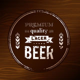 Beer сoaster Royalty Free Stock Photography