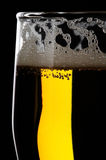 Beer. Glass of cold wheat beer Royalty Free Stock Image