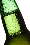 Beer. Bottle on a white background Royalty Free Stock Photos