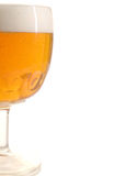 Beer 2. Glass of beer on white background stock image