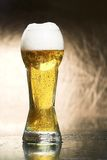 Beer. Full glass of  cold beer Royalty Free Stock Image