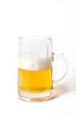 Beer. Mug  on white background Stock Photography