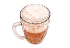 Beer. Mug of beer with foam Stock Photos