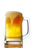 Beer. A mug of beer with bubble Stock Images