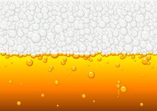 Beer. Abstract vector illustration of beer texture Stock Photos