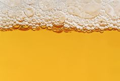 Beer. Close up picture of beer Royalty Free Stock Image