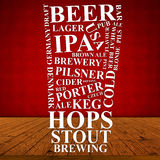 Beer Ad Stock Photography