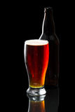 Beer, amber ale Royalty Free Stock Photography