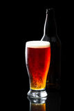 Beer, amber ale Royalty Free Stock Images