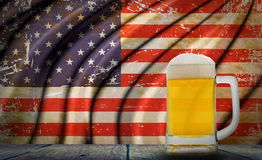 Beer America Royalty Free Stock Photo