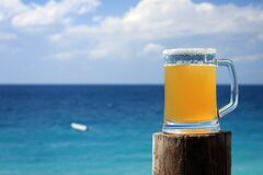 Free Beer And Sea Royalty Free Stock Photography - 191411867