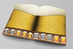 Beer app Magazine Stock Photo
