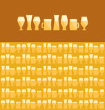 Beer assorted Royalty Free Stock Photo