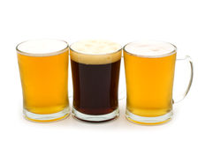 Beer assortment Royalty Free Stock Image