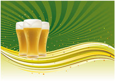 beer background Stock Image