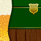 Beer background Royalty Free Stock Photos