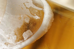 Beer - background. Macro, shallow DOF royalty free stock photography