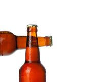 Beer background close up Royalty Free Stock Image
