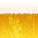 Beer background. Background beer with foam and bubbles Stock Photo