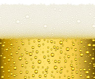Beer background illustration Royalty Free Stock Images