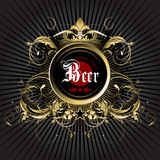 Beer background Royalty Free Stock Photo