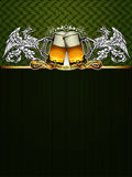 Beer background Royalty Free Stock Photography