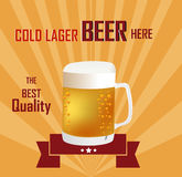 Beer Background Stock Images