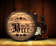 Beer background Stock Image