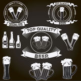 Beer badges, pub, bar. Vector for your ideas!I hope it will be useful for you!nn Stock Photography