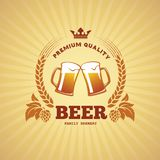 Beer banner Stock Photos
