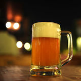 Beer At A Bar Royalty Free Stock Photography