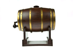 Beer barrel Royalty Free Stock Photography