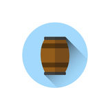 Beer Barrel Icon Oktoberfest Festival Holiday Concept Royalty Free Stock Photography