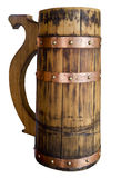 Beer barrel isolated on white background Royalty Free Stock Image