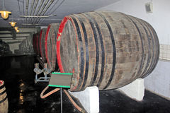 The beer barrel Stock Photo