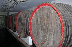 The beer barrel Royalty Free Stock Photo