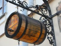 Beer barrel Stock Images